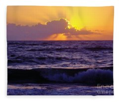 Amazing - Florida - Sunrise Fleece Blanket
