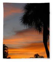 Amazing Sunrise In Florida Fleece Blanket