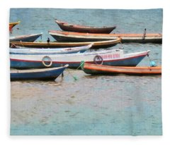 Amazon Boats Brazil Fleece Blanket