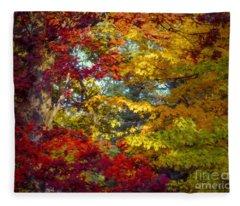 Amber Glade Fleece Blanket
