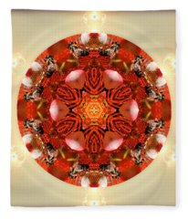 Ambrosia Fleece Blanket