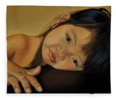 Amelie-an 11 Fleece Blanket