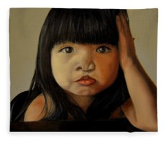 Amelie-an 5 Fleece Blanket