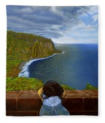 Amelie-an 's World Fleece Blanket