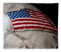 American Astronaut Fleece Blanket
