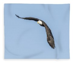 American Bald Eagle 2015-10 Fleece Blanket
