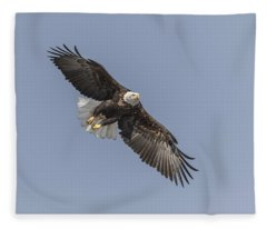 American Bald Eagle 2015-14 Fleece Blanket