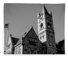 American Courthouse Fleece Blanket