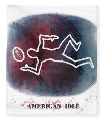 American Idle Fleece Blanket