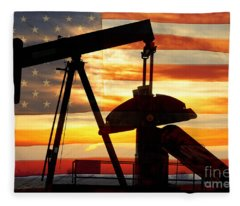 American Oil  Fleece Blanket