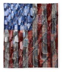 American Sacrifice Fleece Blanket