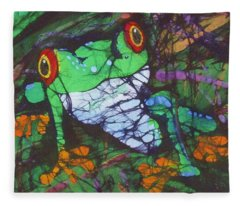 Amphibia II Fleece Blanket