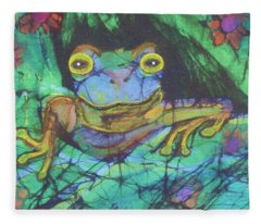 Amphibia IIi Fleece Blanket