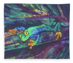 Amphipia I Fleece Blanket