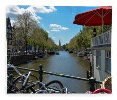 Amsterdam Fleece Blanket