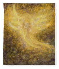 An Angel I Know Fleece Blanket