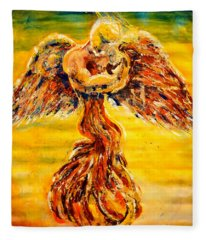 An Angels Love Fleece Blanket