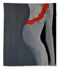An Aura Of Mystique Fleece Blanket