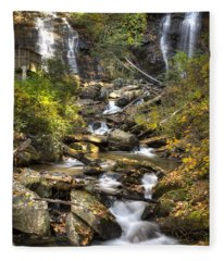 Ana Ruby Falls In Autumn Fleece Blanket