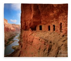 Anasazi Granaries Fleece Blanket