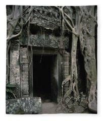 Ancient Angkor Fleece Blanket