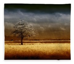 And The Rains Came Fleece Blanket