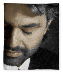 Andrea Bocelli And Square Fleece Blanket