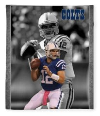 Andrew Luck Colts Fleece Blanket
