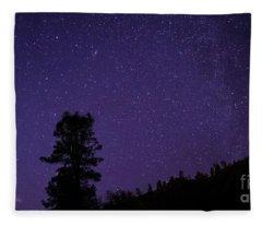 Andromeda Rising Fleece Blanket
