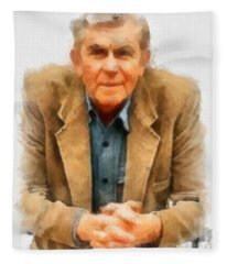 Andy Griffith Fleece Blanket