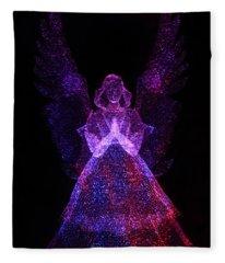 Angel Dots Fleece Blanket