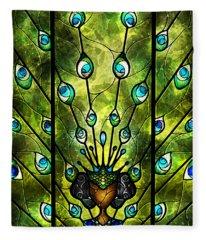 Angel Eyes Fleece Blanket