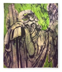 Angel In Prayer Fleece Blanket