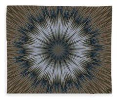 Angel Kaleidoscope Two Fleece Blanket