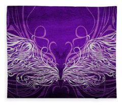 Angel Wings Royal Fleece Blanket