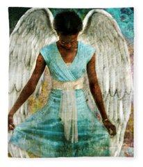 Angelic Thanks Fleece Blanket