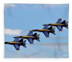 Angels Of The Sky Fleece Blanket