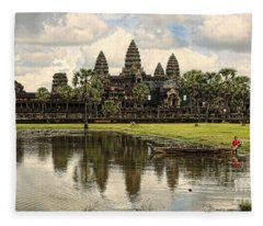 Angkor Wat I Fleece Blanket