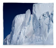 Antarctic Iceberg Fleece Blanket