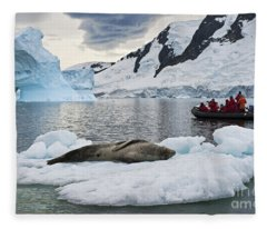 Antarctic Serenity... Fleece Blanket