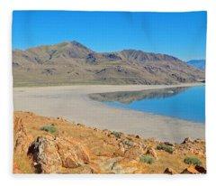 Antelope Island Fleece Blanket