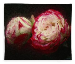 Antique Romance Fleece Blanket