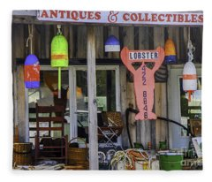 Antiques And Collectibles Fleece Blanket