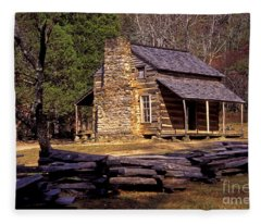 Appalachian Homestead Fleece Blanket
