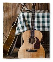 Appalachian Music Fleece Blanket