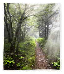 Appalachian Trail Fleece Blanket
