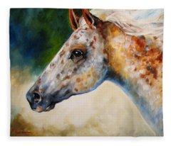 Appaloosa Spirit 3618 Fleece Blanket