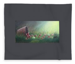 Apple Harvest Fleece Blanket
