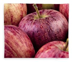Apples 02 Fleece Blanket
