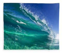 Aqua Blade Fleece Blanket